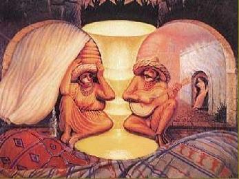 Illusion vieillards