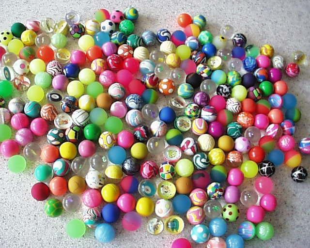 une multitude de balles