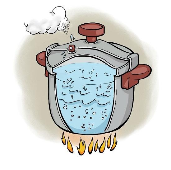 Des ph nom nes physiques dans la cuisine partie ii kidi 39 science - Quelle pression d eau pour une maison ...